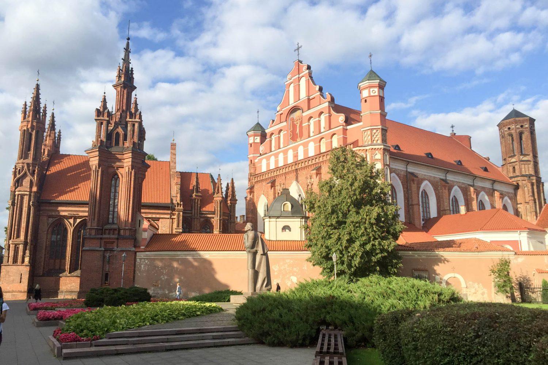 church of st. anne and bernardine monastery