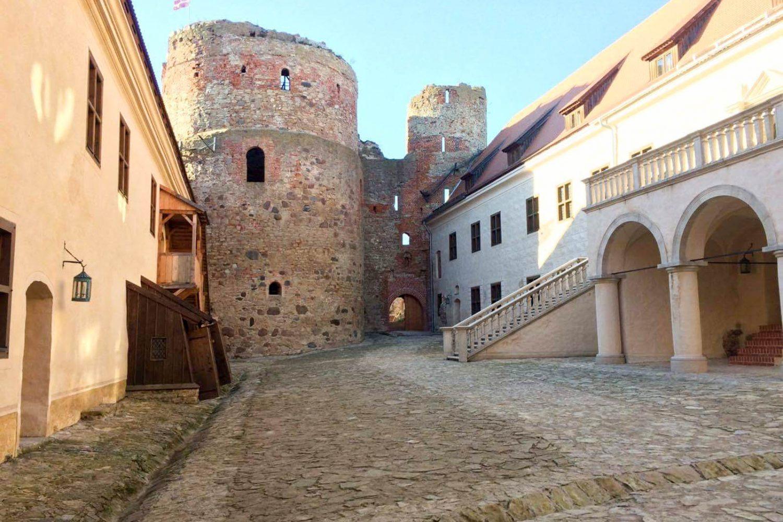 Bauska castle latvia