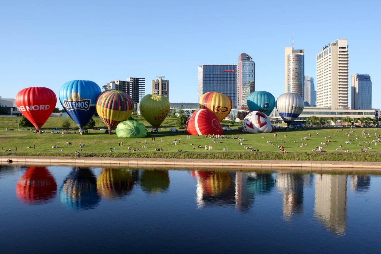 hot air balloon vilnius